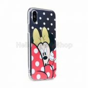 Apple Iphone X/XS Mese/rajzfilm figurás telefonvédő- Disney-Minnie