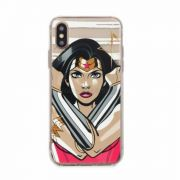 Apple Iphone X/XS Wonder Woman rajzfilm figurás szilikon tok
